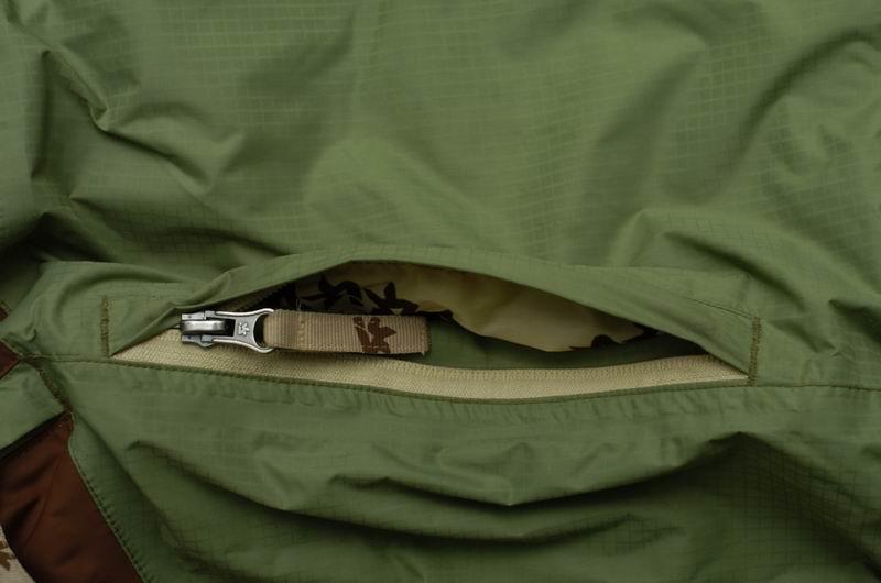 Как сделать карман с молнией в куртке