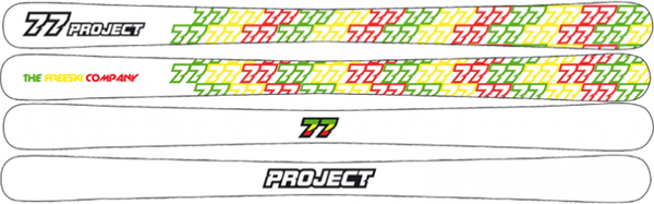 77 Project Skibob White