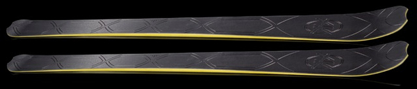 AK Skis Black Master.