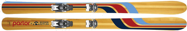 Parlor Harrier | HUDSON SUTLER X PARLOR SKIS Limited Edition
