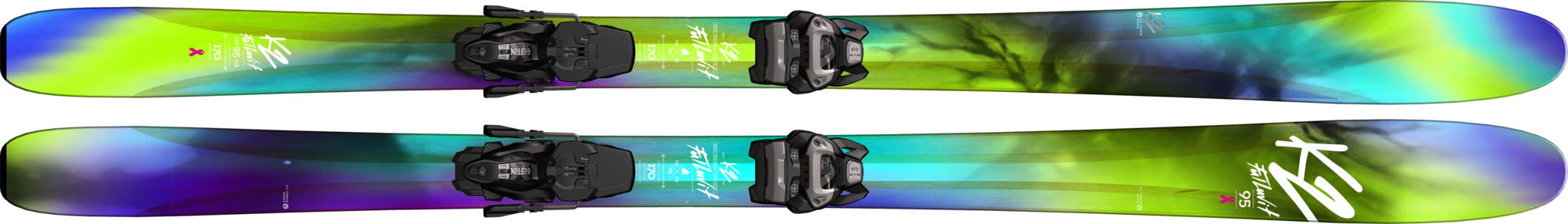 K2 bioflexcore горные лыжи