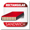 Rectangular Sandwich