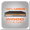100% Carbon Wood Titanal