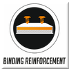 Binding reinforcement