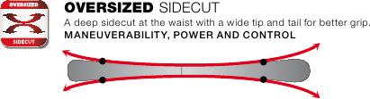 Sidecut OVERSIZED