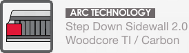 ARC, sds 2.0, woodcore ti carbon