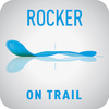 rocker on trail